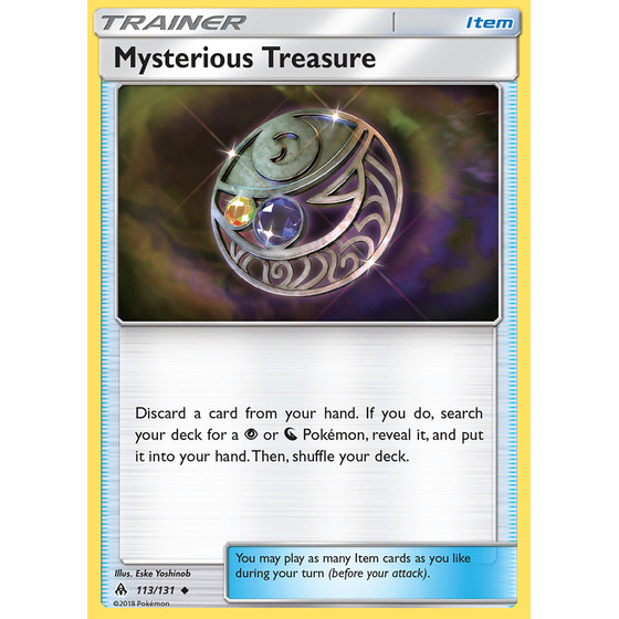 Mysterious Treasure - 113/131 - Uncommon