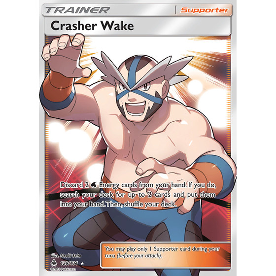Crasher Wake - 129/131 - Fullart