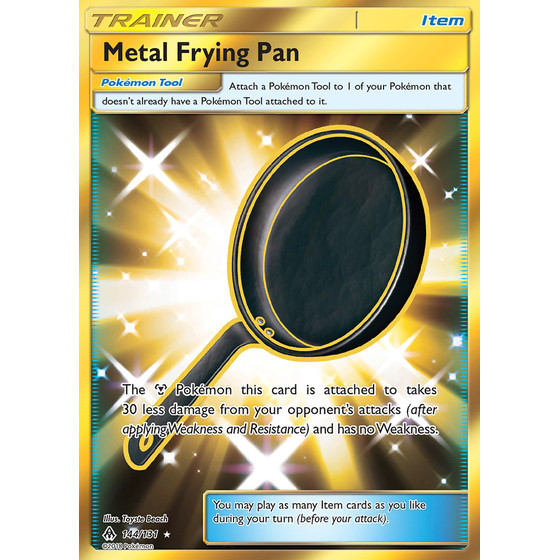 Metal Frying Pan - 144/131 - Shiny