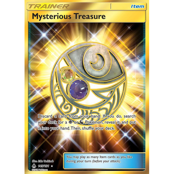 Mysterious Treasure - 145/131 - Shiny
