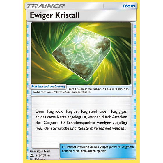 Aggregat-Energie  KFF - 118/131 - Reverse Holo