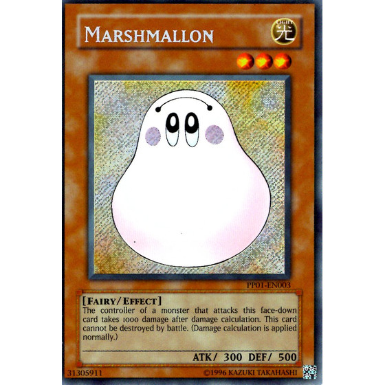 Marshmallon - PP01-DE003 - Secret Rare - Good