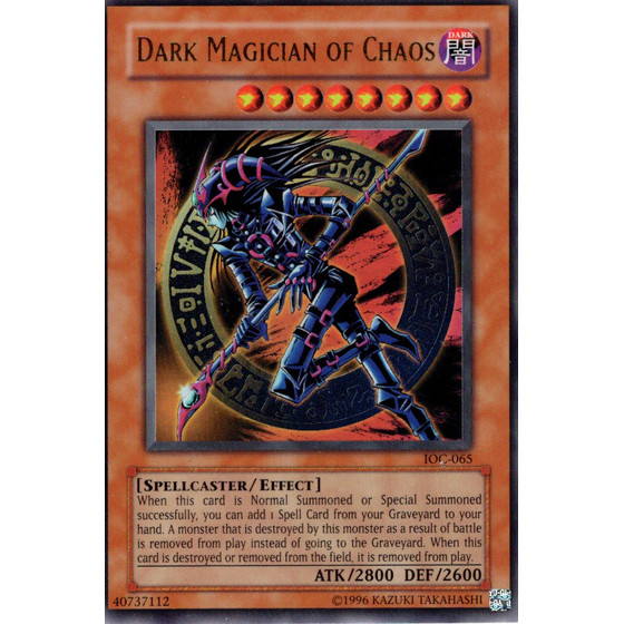 Dark Magician of Chaos - IOC-EN065 - Ultra Rare - Good