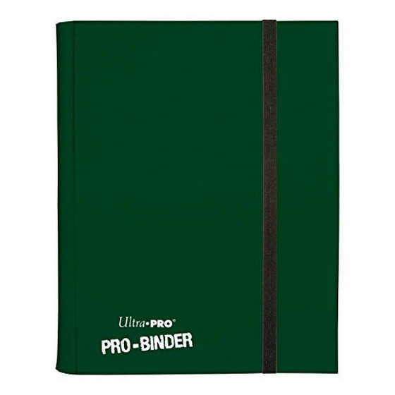 Ultra Pro - Pro Binder Dark Green (9-Pocket)