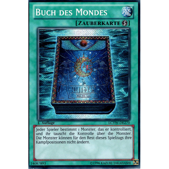 Buch des Mondes - LCYW-DE270 - Secret Rare - Good