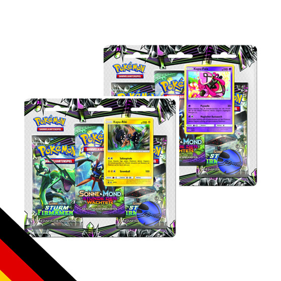 Sonne & Mond: Sturm am Firmament - 3-Pack + Promo Blister...
