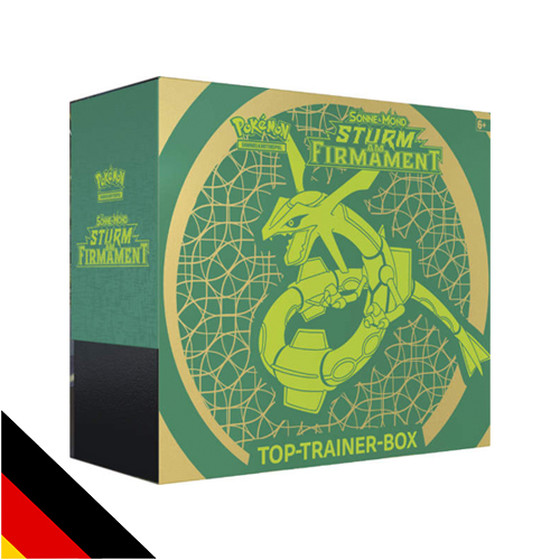 Sonne & Mond: Sturm am Firmament Top-Trainer Box Rayquaza...