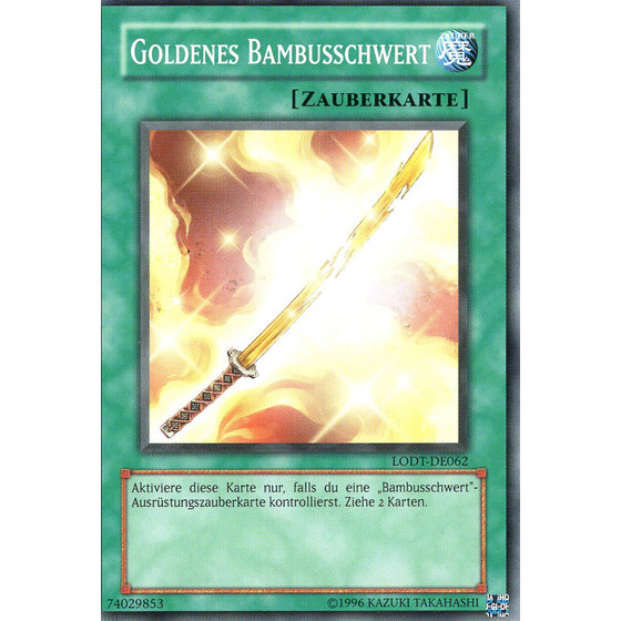 Goldenes Bambusschwert - LODT-DE062 - Common - Good