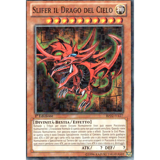 Slifer der Himmelsdrache - BP02-IT127 - Mosaic Rare