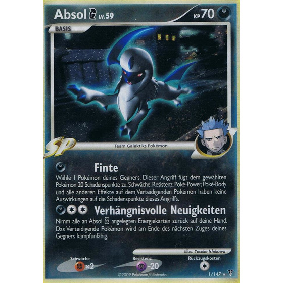 Absol G - 1/147 - Holo