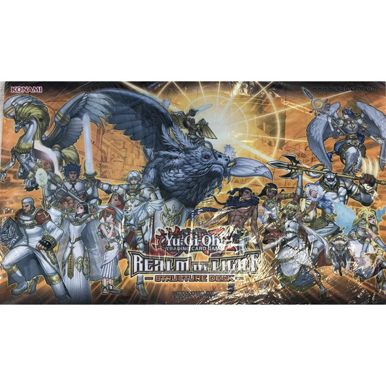 Realm Of Light Structure Deck Playmat - Lichtverpflichtet...