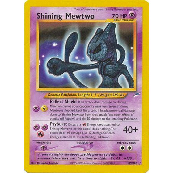 Shining Mewtwo - 109/105 - Shiny - Lightly Played