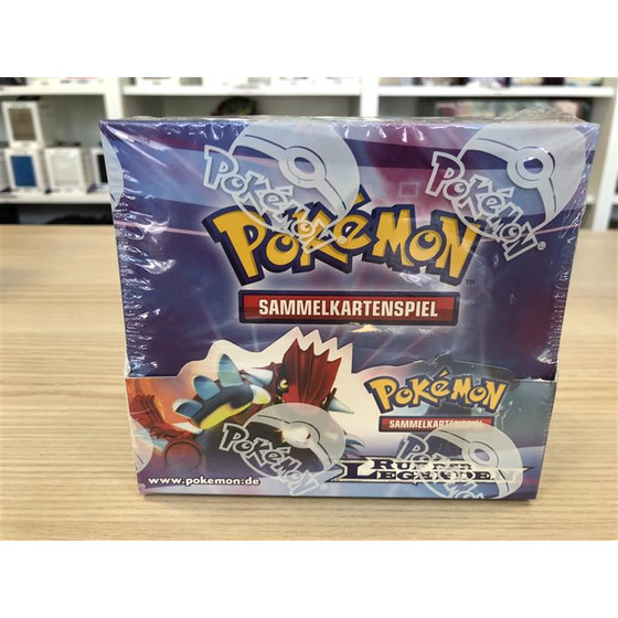 Pokemon Ruf der Legenden Display Deutsch - OVP/Sealed -...