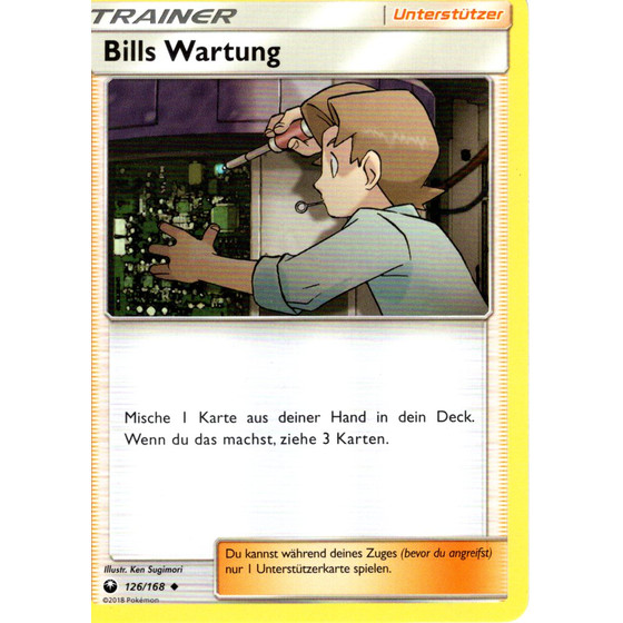 Bills Wartung - 126/168 - Uncommon