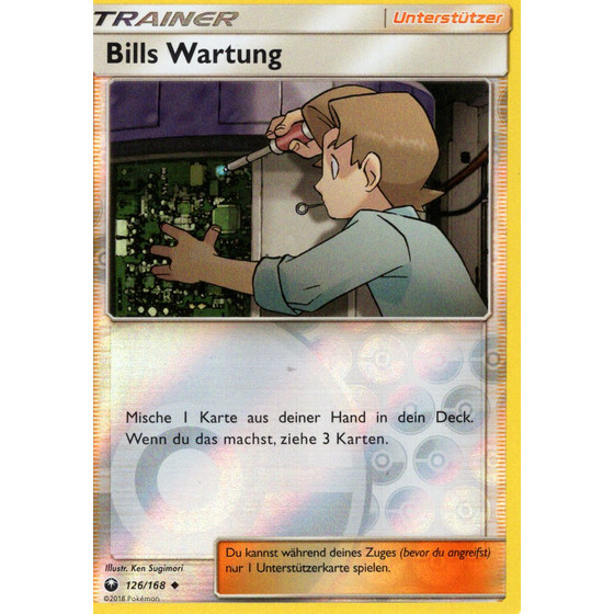 Bills Wartung - 126/168 - Reverse Holo