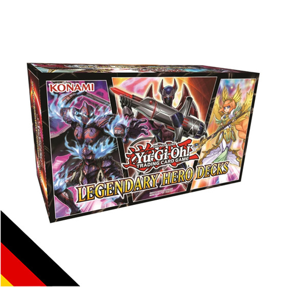 Legendary Hero Decks - DER YUGIOH ARTIKEL 2018 - Deutsch