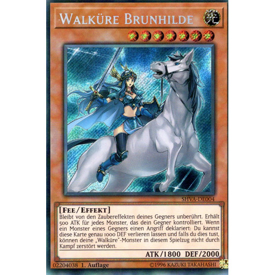 Walküre Brunhilde - SHVA-DE004 - Secret Rare