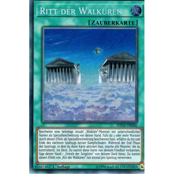 Ritt der Walküren - SHVA-DE006 - Secret Rare