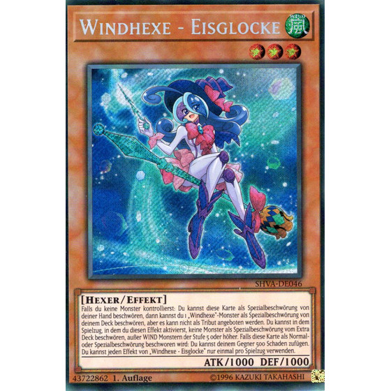 Windhexe - Eisglocke - SHVA-DE046 - Secret Rare