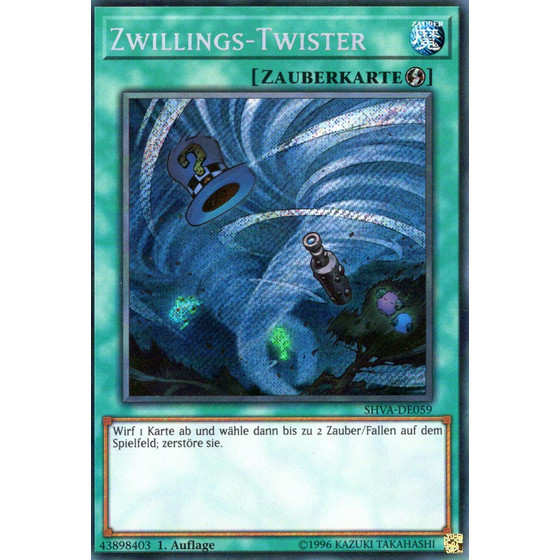 Zwillings-Twister - SHVA-DE059 - Secret Rare