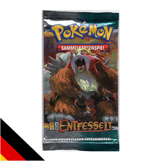 Pokemon HS Entfesselt Booster Deutsch