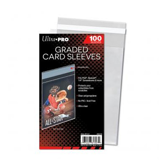 Ultra Pro Graded Card Sleeves - 100 Hüllen für PSA/BGS
