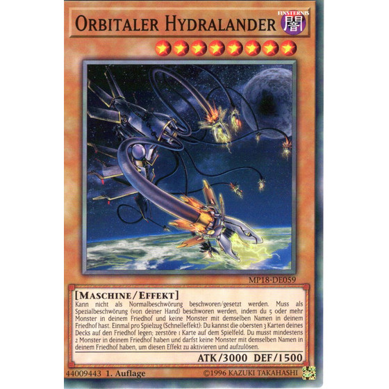 Orbitaler Hydralander - MP18-DE059 - Common