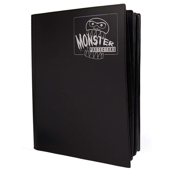 Monster Protection Mega Binder Matte Black für bis zu 720...