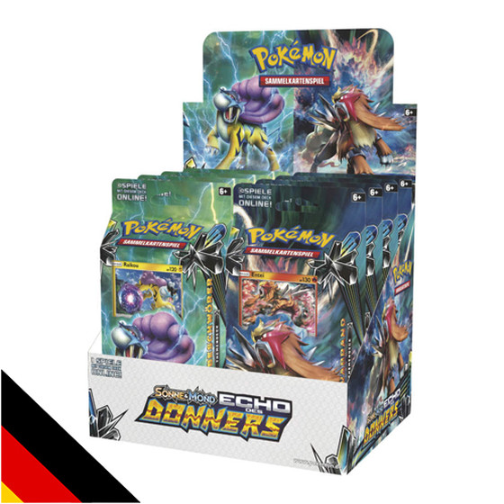 Sonne & Mond: Echo des Donners Themen Deck Entei Deutsch