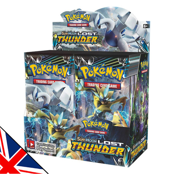 Sun & Moon: Lost Thunder Display (Englisch)
