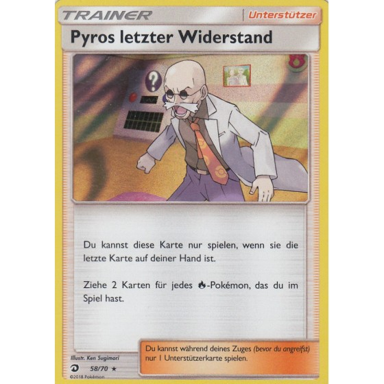 Pyros letzter Widerstand - 58/70 - Holo