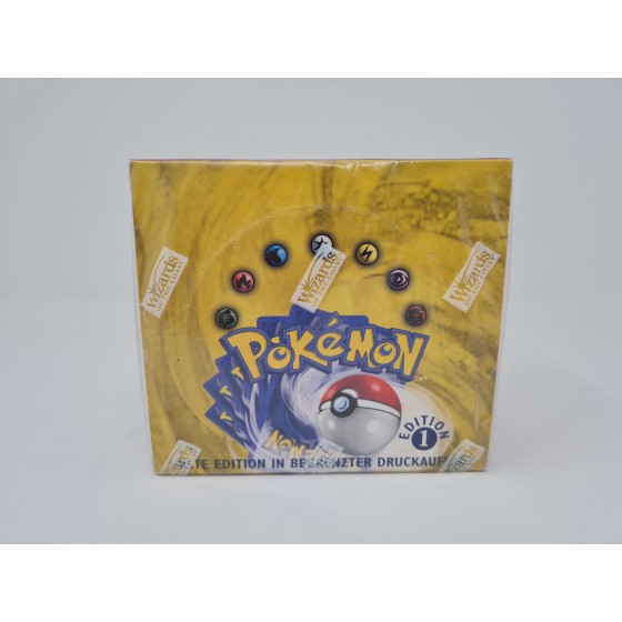 Pokemon Basis Set Display 1st Edition / 1. Auflage...