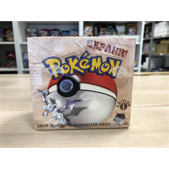 Pokemon Fossil Display 1st Edition / 1. Auflage Deutsch -...