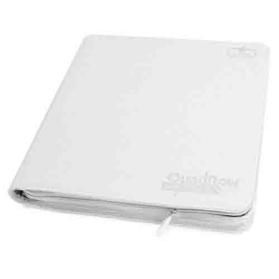Ultimate Guard - 12-Pocket QuadRow ZipFolio XenoSkin Weiß