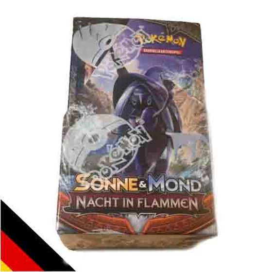 Sonne & Mond: Nacht in Flammen 18er Display (Deutsch)