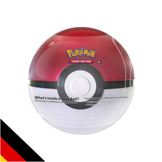 PokeBall Tin Box (Deutsch)
