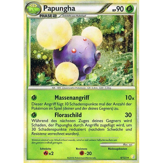 Papungha - 6/123 - Holo