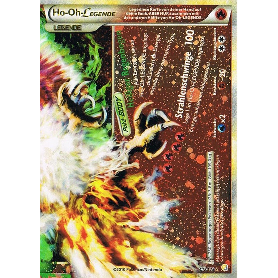 Ho-Oh-LEGENDE - 112/123 - Legend