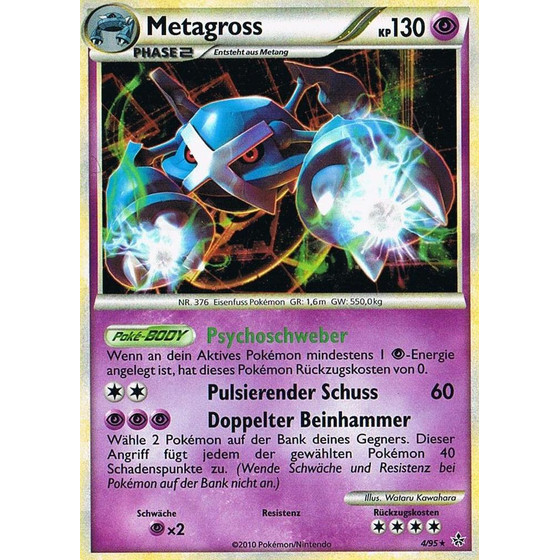 Metagross - 4/95 - Holo