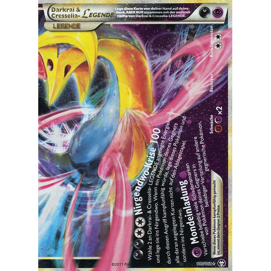 Darkrai & Cresselia-LEGENDE - 100/102 - Legend
