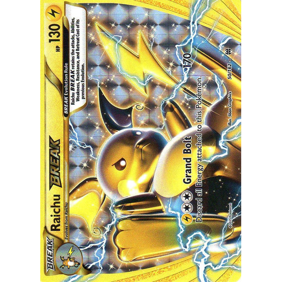 Raichu BREAK - 50/162 - Break