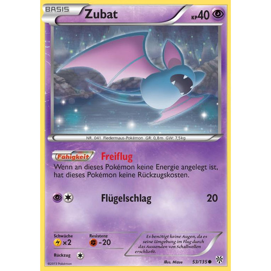 Zubat - 53/135 - Common