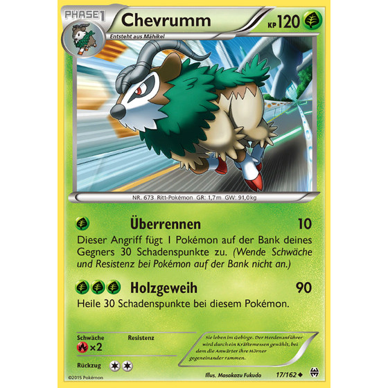 Chevrumm - 17/162 - Uncommon