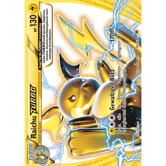Raichu TURBO - 50/162 - Break