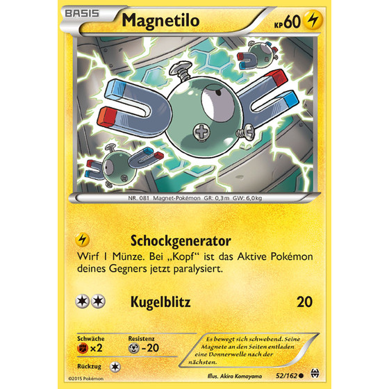 Magnetilo - 52/162 - Common