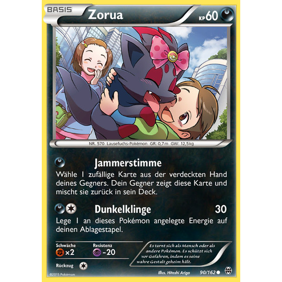 Zorua - 90/162 - Common